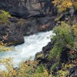 Iceland - The West - Hraunfossar and Barnafoss — Stock Photo #16258583