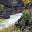 Stock Photo: Iceland - The West - Hraunfossar and Barnafoss