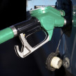 Pumping gas - Stock Photo