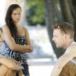 Jealousy - Stockfoto