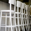 Chairs in a wine bar - Photo