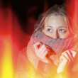 Royalty-Free Stock Photo: Turn down the heat