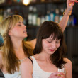 Royalty-Free Stock Photo: Women in a bar