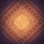 Square orient ornaments — Stock Vector