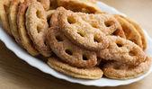 Delicious sugar cookies — Stock Photo