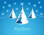 Beautiful christmas card — Stock Vector