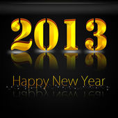 Golden Year 2013 — Stock Photo