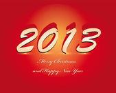 Happy New Year 2013!!! — Stock Vector