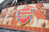 Emirates stadium arsenal london — Stock Photo