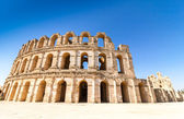 Roman Colosseum in El Jem in Tunisia — Stock Photo