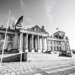 Stock Photo: Reichstag in Berlin