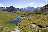 Alpine lakes — Stock Photo