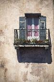 阳台窗 — 图库照片