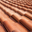 Stock Photo: Red roof