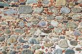 Stones and bricks wall — Stock Photo