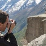 Wildlife Photographer — Stock Photo #29302479