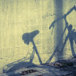 Stock Photo: Bicycle silhouette
