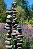 Steine im japanischen garten — Stockfoto