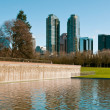Stock Photo: Downtown park of Bellevue