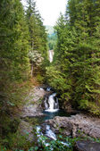 Wallace Falls, waterfalls in Washington state — Stock Photo