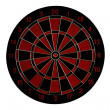 Stock Photo: Dart board