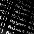 Malware Alert — Stock Photo