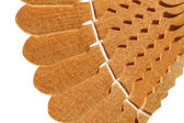 Decorative piece of wood products — Stock Photo
