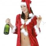 Sexy Santa — Stock Photo #10489513