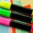 Stock Photo: Three colored marker.