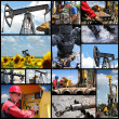 Royalty-Free Stock Photo: Oil And Gas Industry - Collage