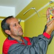 Stock Photo: Portrait of Electrician