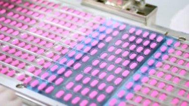 Pill Packaging Machine — Stock Video