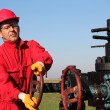 Oil and Gas Well Drilling Worker — Stock Photo #41332101