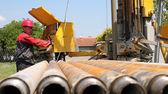 Drilling Rig Operator — Stock Photo