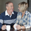 Mature couple together — ストック写真