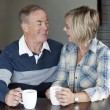 Mature couple together — Stockfoto