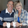 Mature couple together - Stok fotoğraf