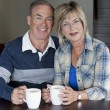 Mature couple together - Stock Photo