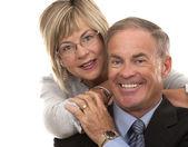 Formal mature couple — Stock Photo