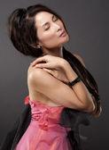Asijských půvabu žena — Stock fotografie