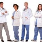 Team of doctors — Stock Photo #25903187