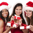 Group of christmas women — Stock Photo #29975799