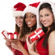 Group of christmas women — Stock Photo #29975833