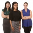 Three business women — Stock Photo #30651011