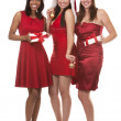 Group of christmas women — Stock Photo #31272705