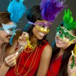 Group of women partying — Stock Photo #31273717