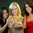 Group of women partying — Stock Photo