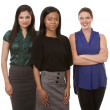 Stock Photo: Three business women