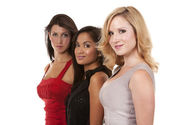 Group of classy women — Stock Photo