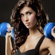 Fitness woman — Stockfoto